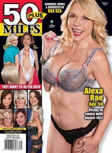 Autographed 50PLUS MILFS SP279 Magazine